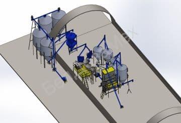 Мини-комбикормовый завод, комплектация 4