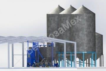 Мини-комбикормовый завод, комплектация 7